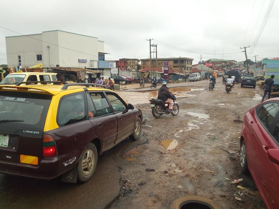 Ogbomoso Residents Cry Out To Oyo State Gov Over The State Of Roads (Pictures) 3