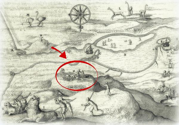 El Mapa de Jacob Le Maire