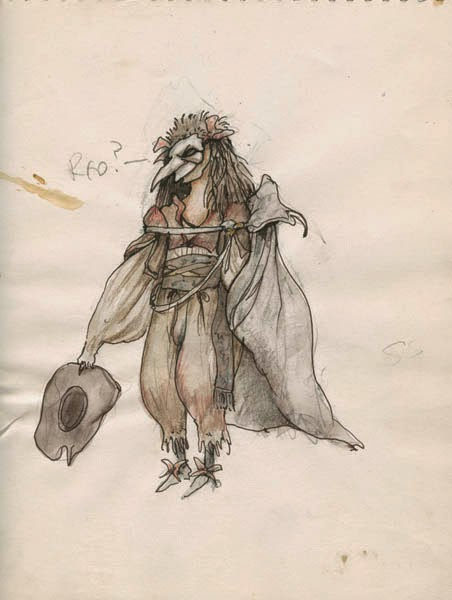 Do The Magic Dance With Labyrinth Concept Art By Brian
