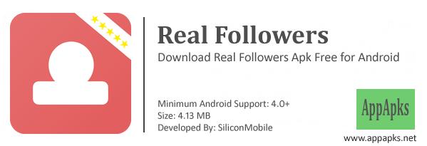 Real Followers Apk