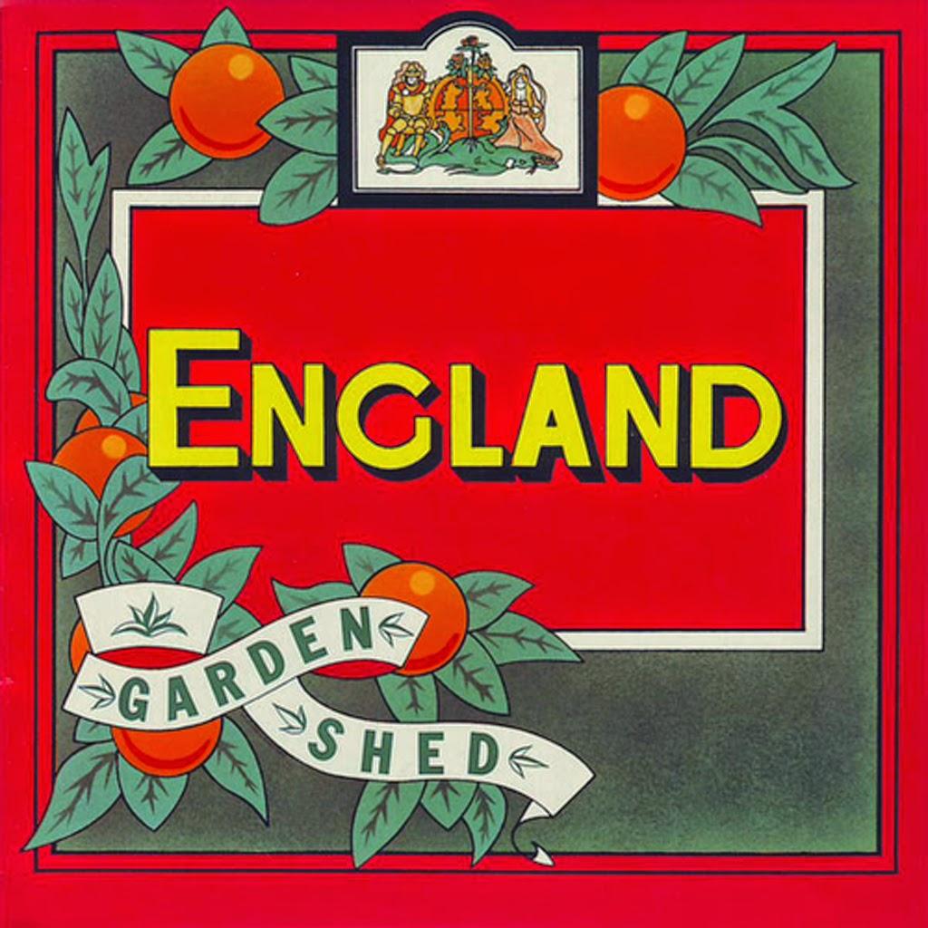 England - Garden Shed