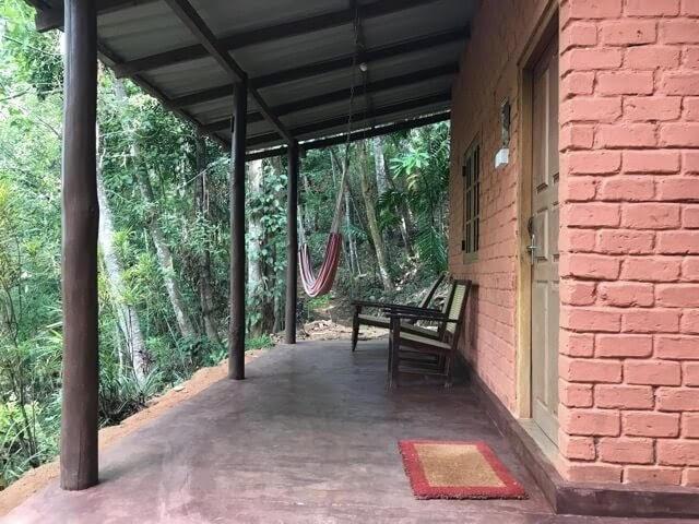 clay brick cabana