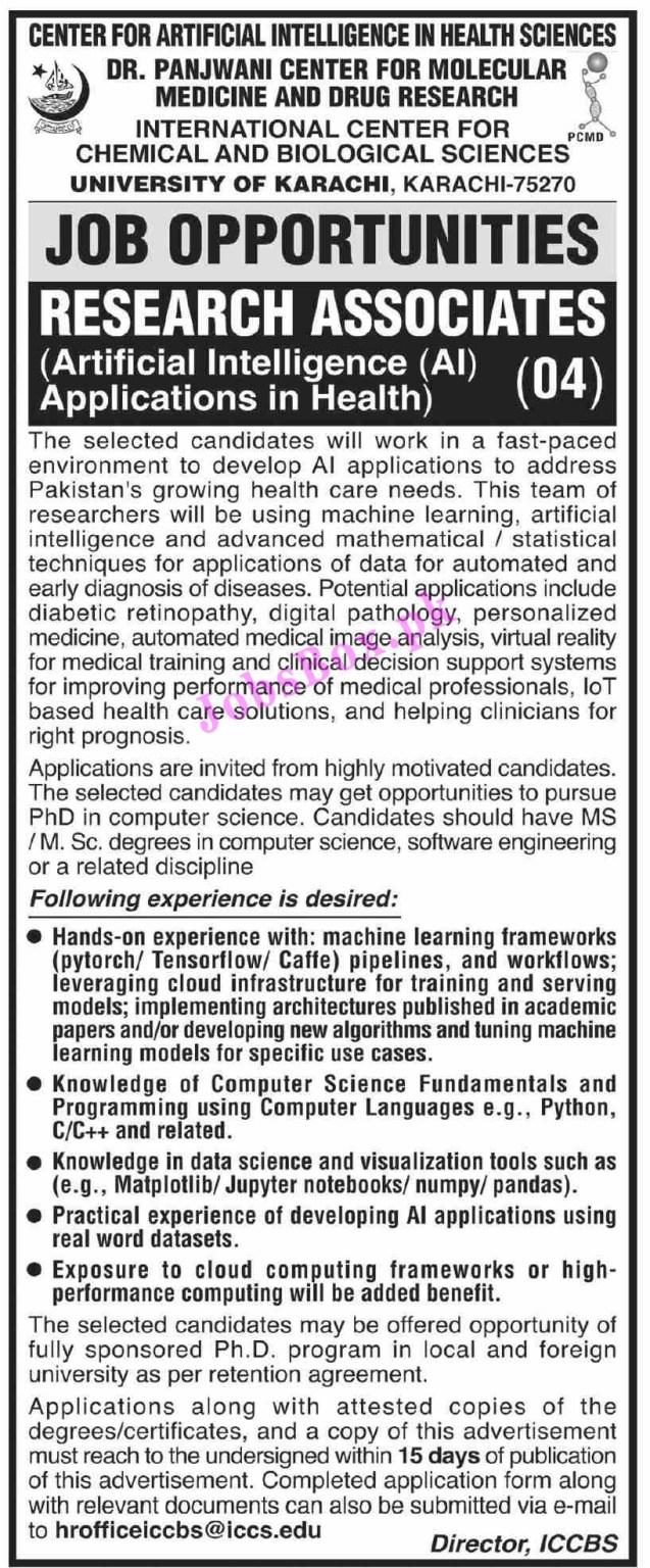 UOK University of Karachi Jobs 2021 in Pakistan
