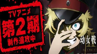 Resmi! Anime Youjo Senki Akan Mendapatkan Season 2