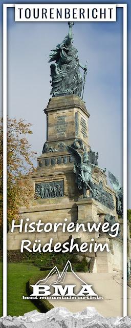 Historienweg Rüdesheim | Wandern Rheingau