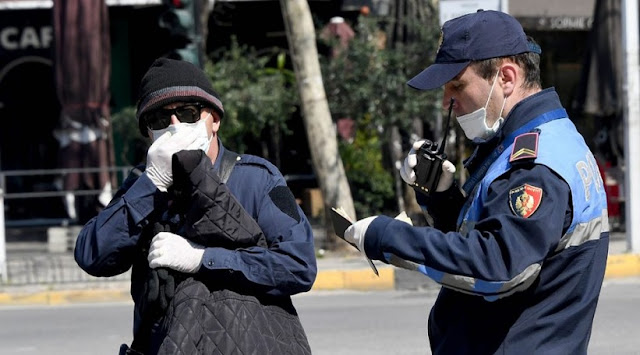 Over 340 fines in Albania on the second day for not wearing the mask
