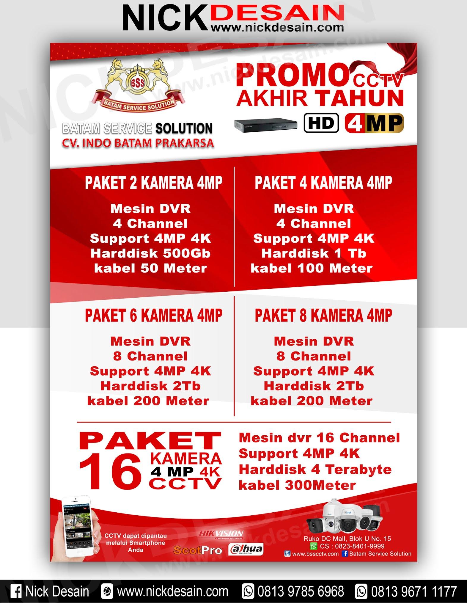 Contoh Desain Brosur CCTV   Percetakan Tanjungbalai   Percetakan ...