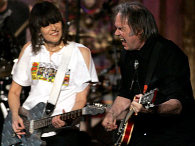 Neil Young, Chrissie Hynde