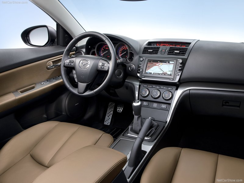 האחרון מאזדה 6 החדשה 2011 סקירה לאחר קנייה | חוות דעת וביקורות רכב RU-16