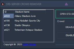 Stadium Server Crowd Remover V1.0.0 - PES 2017
