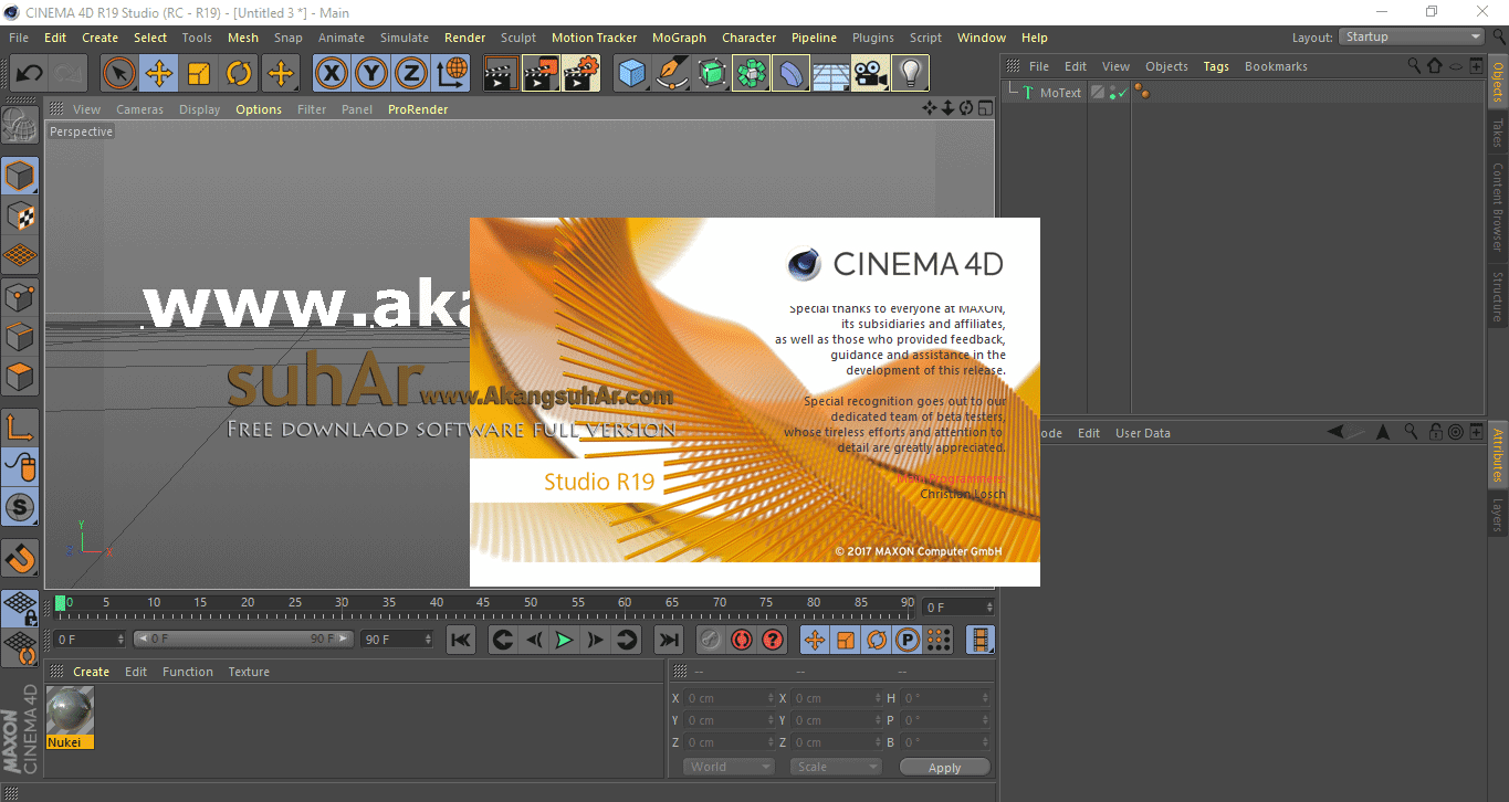 Maxon CINEMA 4D Studio R19 Final Latest Version, Maxon CINEMA 4D Studio Offline Installer, Maxon CINEMA 4D Studio R19 Full Keygen
