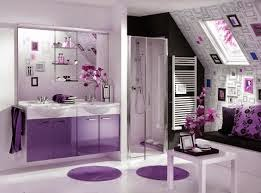 Baño color negro violeta