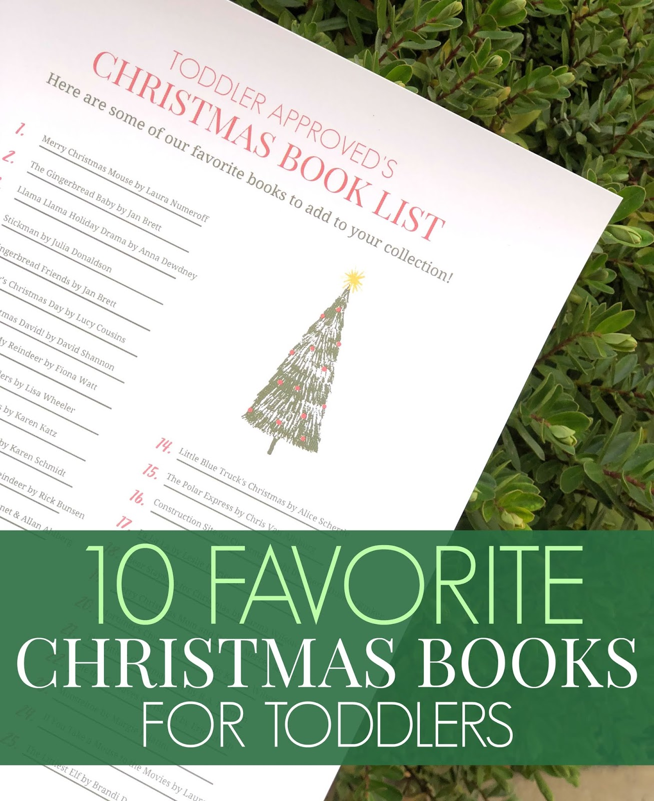 Toddler Approved 10 Favorite Christmas Books To Read With Toddlers