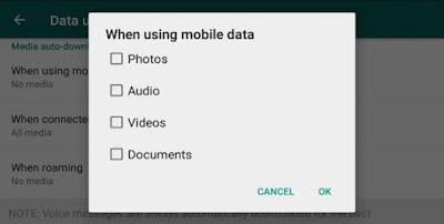 Cara Mencegah WhatsApp Download Foto/Video Otomatis