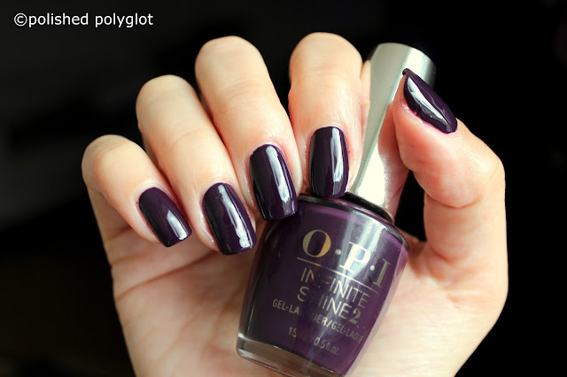 OPI Breakfast at Tiffany's Holiday I'll Have a Manhattan
