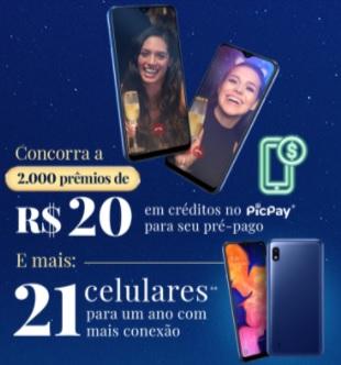 Cadastrar Promoção Chuva de Prata 2020 Créditos PicPay e Prêmios