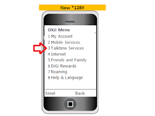 Cara Share Kredit Digi Melalui SMS