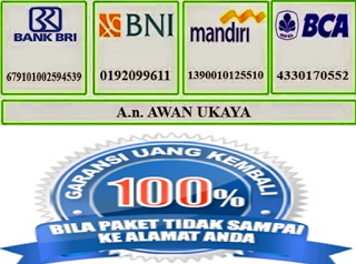 "Rek. Bank Denature Indonesia ""Awan Ukaya"""