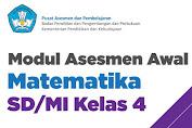 Modul Asesmen Awal Matematika Kelas 4 SD/MI