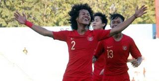Indonesia Hajar Laos 2-1 Piala AFF U-18 Vietnam