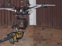 Woow.. Lihat aksi mendebarkan drone 'pembunuh' bersenjata gergaji mesin