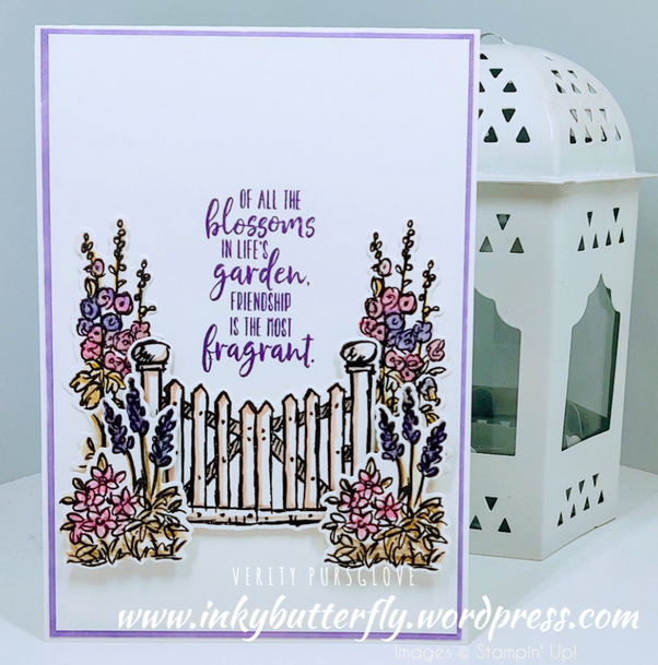 Nigezza Creates with Stampin' Up! and Inkybutterfly and Grace's Garden