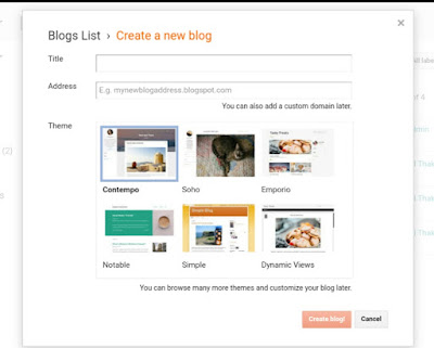 Create Free Blog In Hindi