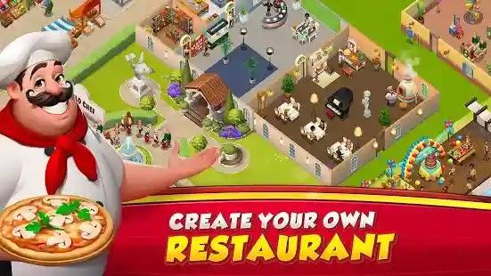 العب الطهي الفوري World Chef ، وهي لعبة لإنشاء مطعمك وطهي أفضل الوصفات لجذب عملاء VIP.