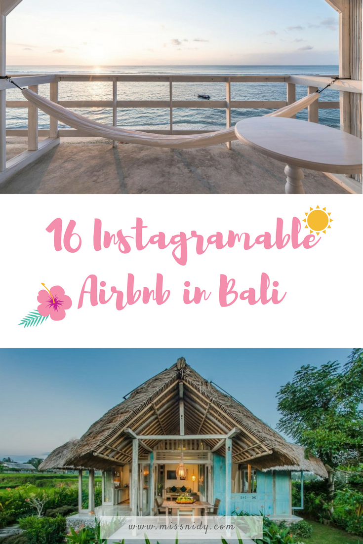 16 instagramable airbnb in bali