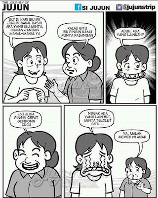 15 Komik Lucu 'Om Telolet Om' Bikin Ketawa Ngakak Sampai Blenger