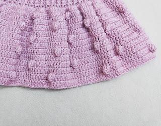 How to crochet short skirt