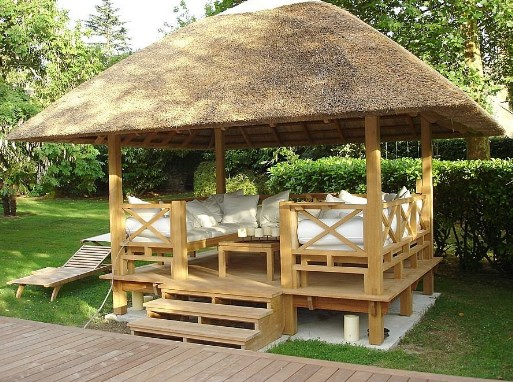 How to Make a Gazebo at Home