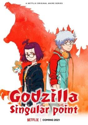 Poster anime godzilla