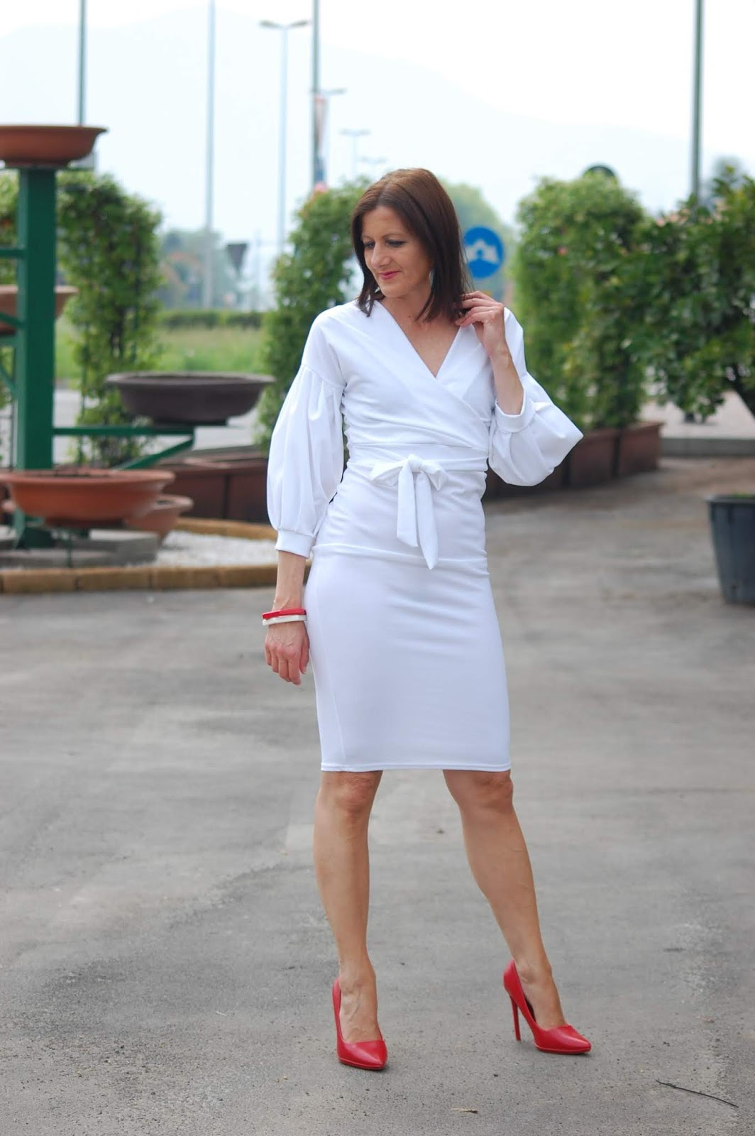 FEMME LUXE ABITO BIANCO