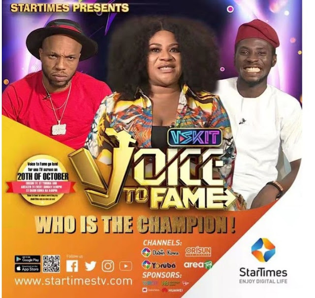 Charles Okocha 'Igwe Tupac' Crowned Winner Of Nigeria's First Voice Dubbing Show