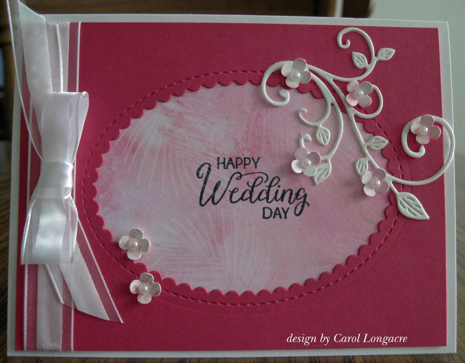 Colorful Wedding Card