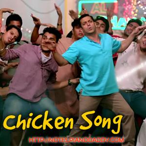 Chicken Song (Bajrangi Bhaijaan) Sargam Harmonium Notes - SarGaM