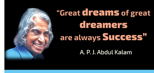 abdul kalam thoughts on success