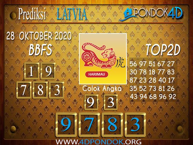 Prediksi Togel LATVIA PONDOK4D 28 OKTOBER 2020