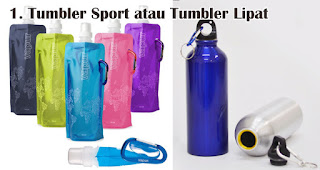 Tumbler Sport atau Tumbler Lipat Flesksibel merupakan salah satu ide hadiah yang tepat untuk petualang outdoor