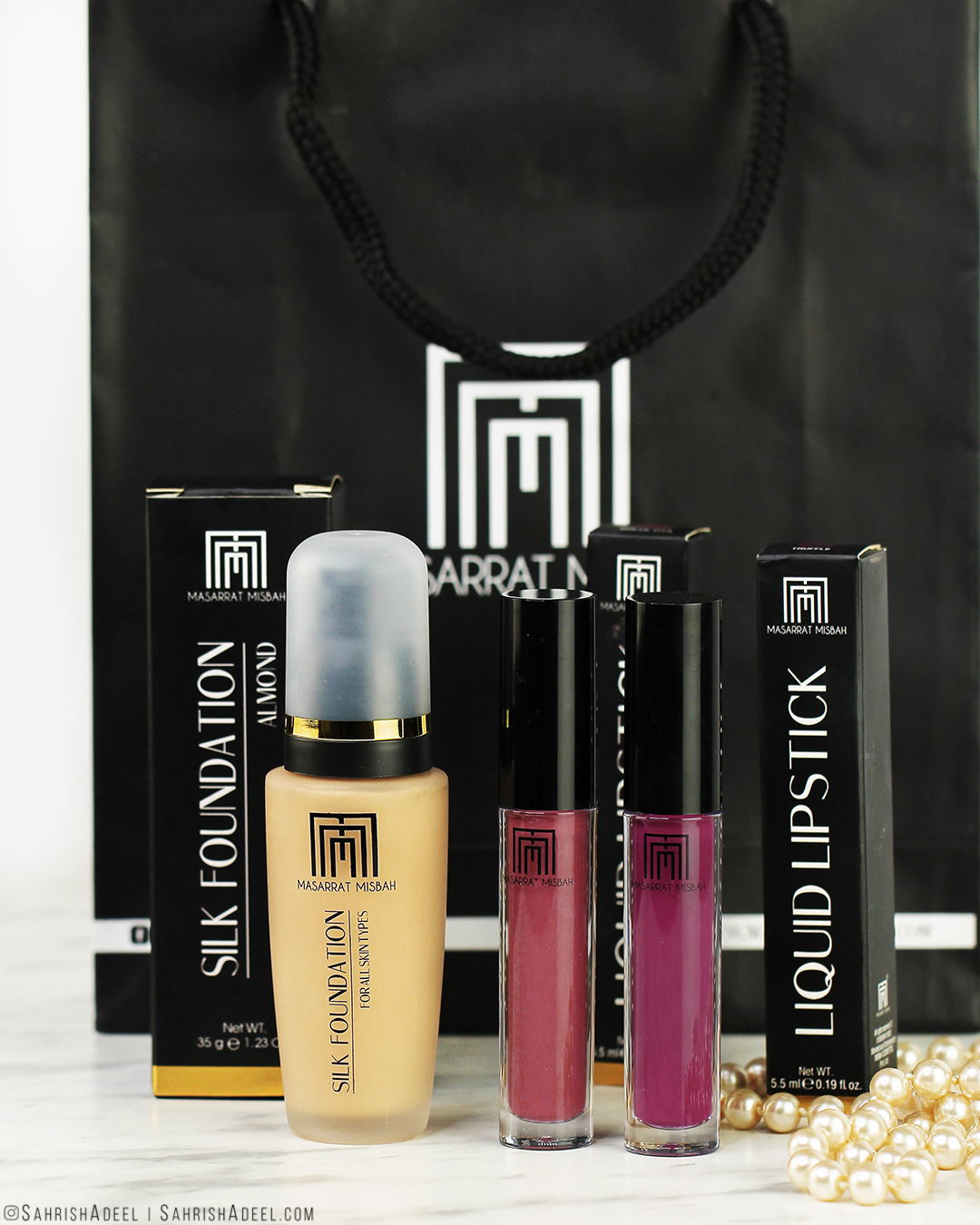 Silk Foundation by Masarrat Misbah - Review & Swatch