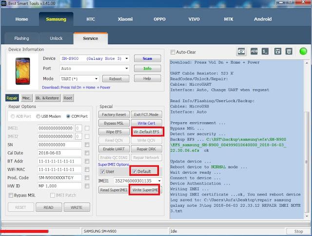 Redmi 5a Efs File