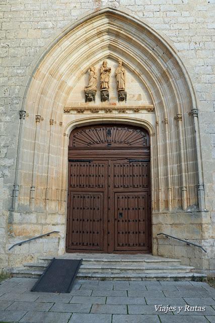 Puerta de San Pedro de Cardeña