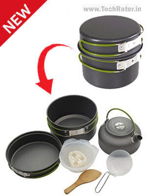 Folding Cooking Utensils for Outdoor Space Saving