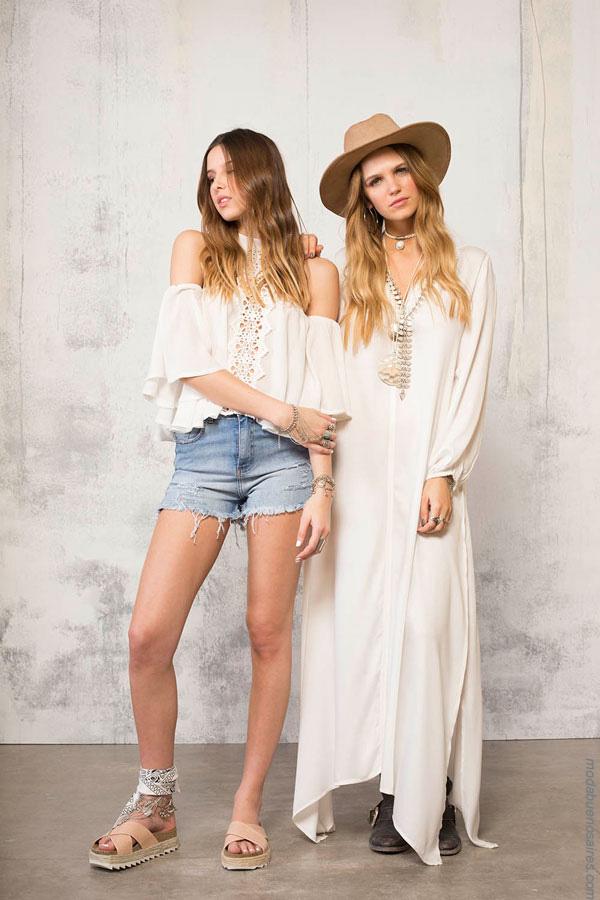 Túnicas, shorts, vestidos de verano 2017 de 47 Street. Moda mujer verano 2017. Moda 2017.