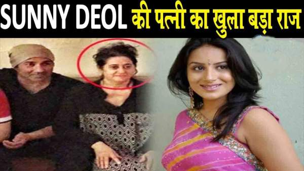 sunny deol wife pooja deol