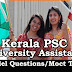 Kerala PSC Model Questions for University Assistant Exam - 97