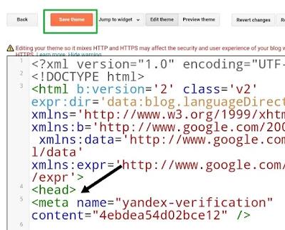 yandex webmaster tools me blog ko submit kaise kare, submit site to yandex, website ko yandex me add kaise kare