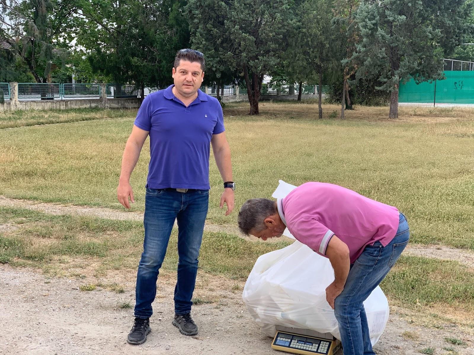 Συνεχίζεται η συλλογή κενών συσκευασιών φυτοπροστατευτικών προϊόντων στον Δήμο Τυρνάβου