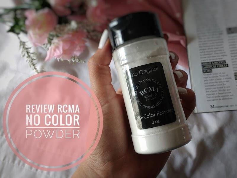 REVIEW/RESEÑA RCMA no color powder